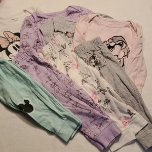 4 Disney Outfits girls
